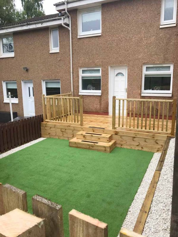 landscaping, artificial grass, astroturf, coatbridge, airdrie, lanarkshire