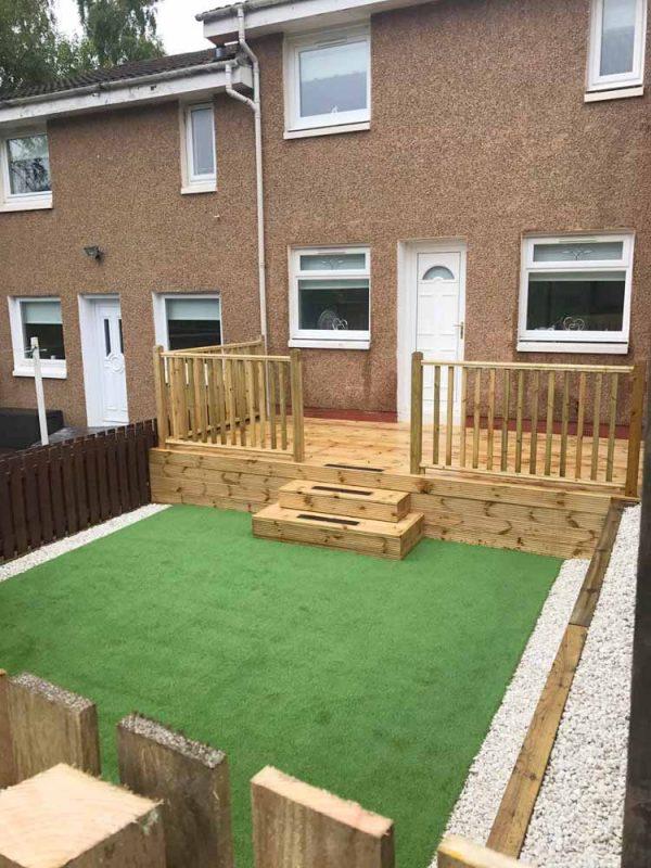 landscaping, artificial grass, astroturf, coatbridge, airdrie, lanarkshire